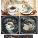 Kávé Rómában, Papír, Decoupage papír, Decoupage, szalvétatechnika, Decoupage minták, A 4-s méretű rizsnyomat, vékony 20 gr-s rizspapíron, découpage technikához. Az eredeti nyomatot víz..., Alkotók boltja