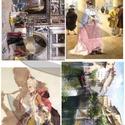 Akvarell sorozat: Velence, Papír, Decoupage papír, Decoupage, szalvétatechnika, Decoupage minták, A 4-s méretű rizsnyomat, vékony 20 gr-s rizspapíron, découpage technikához. Az eredeti nyomatot víz..., Alkotók boltja