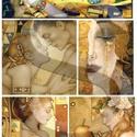 Fantasy sorozat : Klimt-fantázia, Papír, Decoupage papír, Decoupage, szalvétatechnika, Decoupage minták, A 4-s méretű rizsnyomat, vékony 20 gr-s rizspapíron, découpage technikához. Az eredeti nyomatot víz..., Alkotók boltja