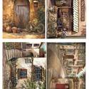 Akvarell sorozat: Provanszi bicikli, Papír, Decoupage papír, Decoupage, szalvétatechnika, Decoupage minták, A 4-s méretű rizsnyomat, vékony 20 gr-s rizspapíron, découpage technikához. Az eredeti nyomatot víz..., Alkotók boltja