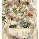 Botanical kollekció 5., Papír, Decoupage papír, A 4-s méretű rizsnyomat, vékony 20 gr-s rizspapíron, découpage technikához. Az eredeti nyomatot vízj..., Alkotók boltja