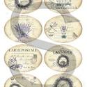 Vintage címkék 1., Papír, Decoupage papír, A 4-s méretű rizsnyomat, vékony 20 gr-s rizspapíron, découpage technikához. Az eredeti nyomatot vízj..., Alkotók boltja