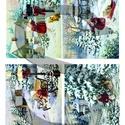 Karácsonyi sorozat: Piros ruhás kislány karácsonyi kalandjai 2., Papír, Decoupage papír, Decoupage, szalvétatechnika, Decoupage minták, A 4-s méretű rizsnyomat, vékony 20 gr-s rizspapíron, découpage technikához. Az eredeti nyomatot víz..., Alkotók boltja