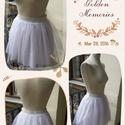 White Swan - tüll szoknya, Ruha, divat, cipő, Női ruha, Szoknya, Varrás, Szuper trendi, elegáns tüll szoknya, ünnepi alkalmakra, partikra, vagy bármely különleges rendezvén..., Meska