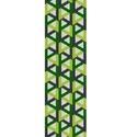 Zöld szögek - peyote minta, Csináld magad leírások, Ékszerkészítés, Szövés, Gyöngy, Egyszemes peyote minta.  A mérete 4,0 cm x 18,9 cm.  A mintát PDF formátumban küldöm a minta árának..., Alkotók boltja