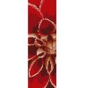 Piros virág - peyote minta, Csináld magad leírások, Ékszerkészítés, Szövés, Gyöngy, Egyszemes peyote minta.  A mérete 4,3 cm x 18,6 cm.  A mintát PDF formátumban küldöm a minta árának..., Alkotók boltja
