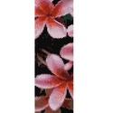 Rózsaszín virág - peyote minta, Csináld magad leírások, Ékszerkészítés, Szövés, Gyöngy, Egyszemes peyote minta.  A mérete 4,6 cm x 18,6 cm.  A mintát PDF formátumban küldöm a minta árának..., Alkotók boltja