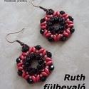 Fűzésminta - Ruth fülbevaló, Csináld magad leírások, Szabásminta, útmutató, Alkotók boltja