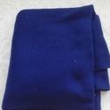 kék passzé anyag, Textil, Vászon, Kék színű körkötött passzé anyag.80 cm széles az anyag és 1,4 m hosszú. , Alkotók boltja