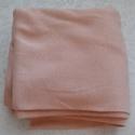 Barack passzé anyag, Textil, Vászon, Barack színű körkötött passzé anyag.70 cm széles az anyag és 1,4 m hosszú. , Alkotók boltja