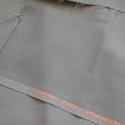Szürkés zöld szövet, Textil, Vászon, Szürkés zöld kevert szálas szövet anyag.Viszkóz és műszál keverék.150 cm széles az anyag és 1 m hoss..., Alkotók boltja