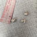 Fém  gombolyag , Gyöngy, ékszerkellék, Egyéb alkatrész, Fém gombolyag 8 mm átmérőjű. , Alkotók boltja