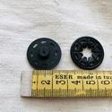 Műanyag varrható patent 25 mm, Csat, karika, zár, Mindenmás, Varrás, Fekete vagy átlátszó műanyag varrható patent. 25 mm atmérőjű. Az ár egy párra vonatkozik. Fekete 30..., Alkotók boltja