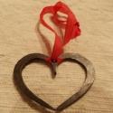 kovácsolt kis szívek, Csat, karika, zár, Dekorációs kellékek, Alkotók boltja