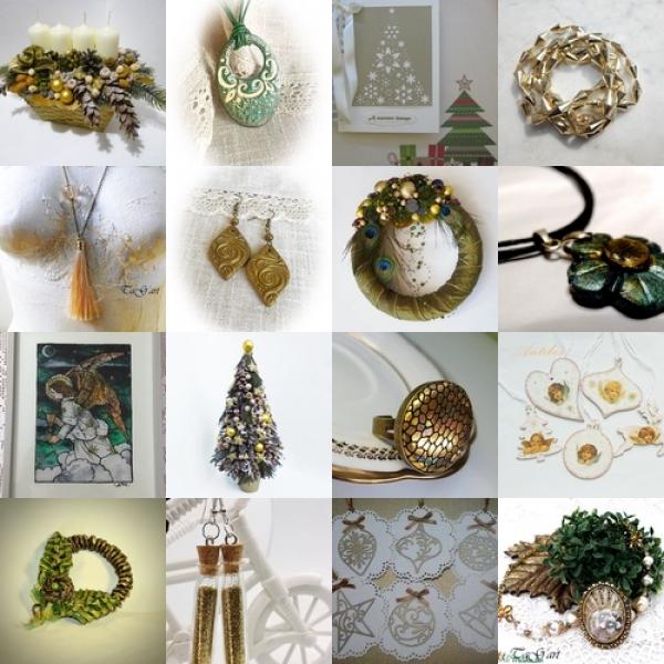 Arany zöld karácsony